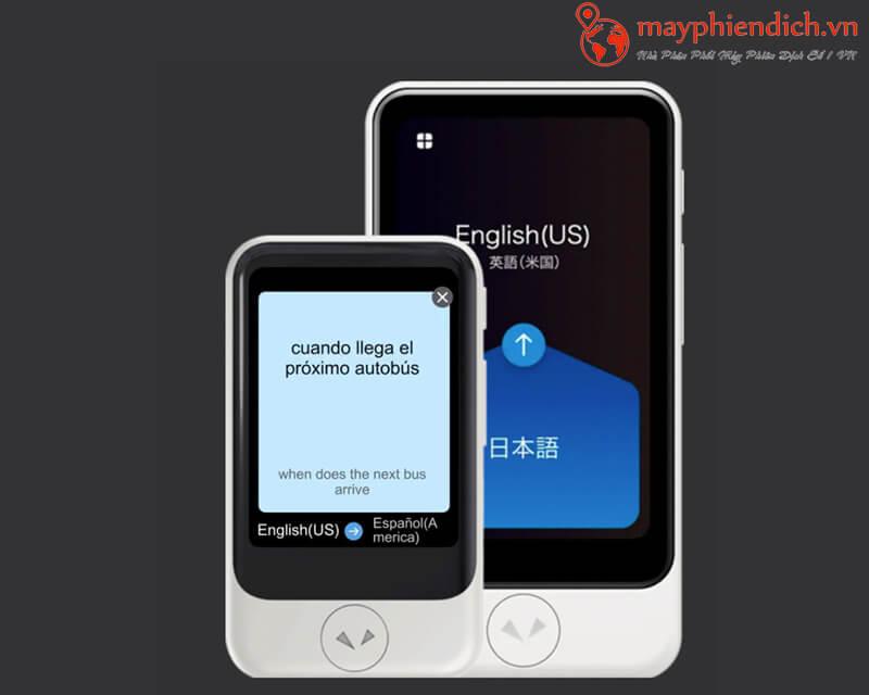 Pocketalk Dịch hai chiều