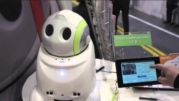 máy phiên dịch robot Papero sẽ sớm có mặt trên thị trường