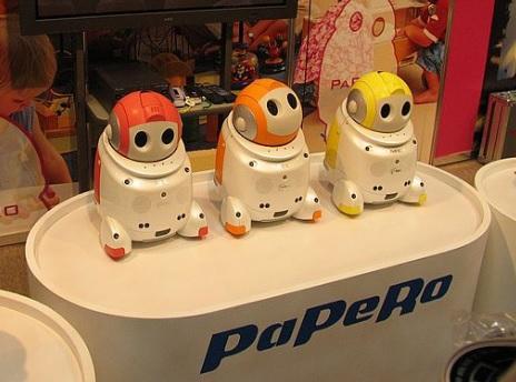 máy phiên dịch robot papero - trợ lí đa năng cho cả gia đình