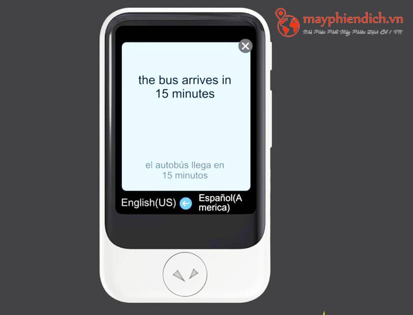 Pocketalk Plus dịch thuật chính xác 82 ngôn ngữ