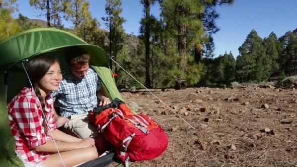 Du lịch Mỹ tự túc - bạn có thể cắm trại nếu muốn