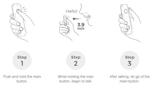 máy phiên dịch ngôn ngữ ili thao tác đơn giản