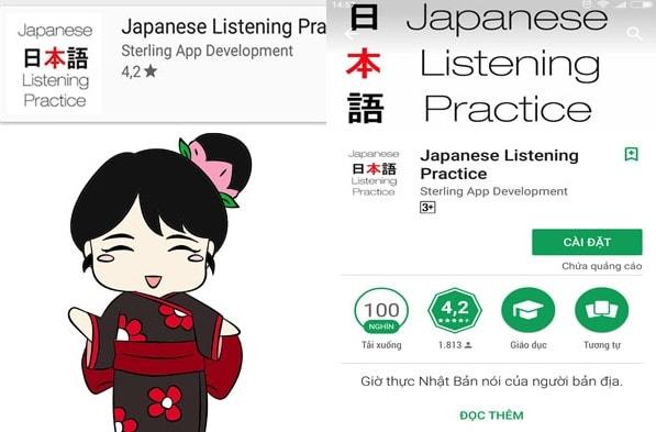 Phần mềm học tiếng Nhật trên đi dộng tốt nhất 2018