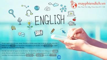 Bí quyết học tiếng Anh bằng cách trộn với tiếng Việt độc đáo & mới lạ