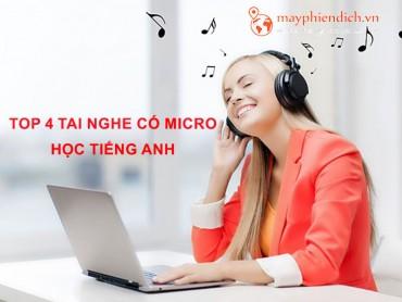 Top 5 tai nghe có mic tốt để học tiếng Anh trực tuyến giá rẻ