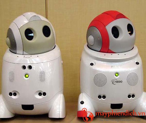 Máy phiên dịch Robot Papero